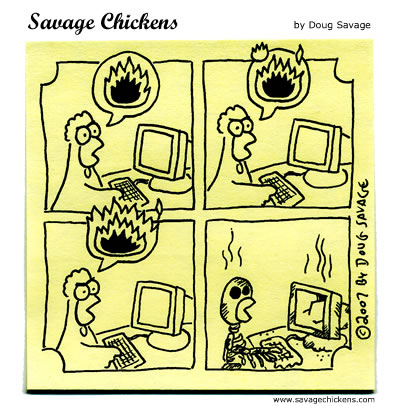 cartoon: savagechickens.com