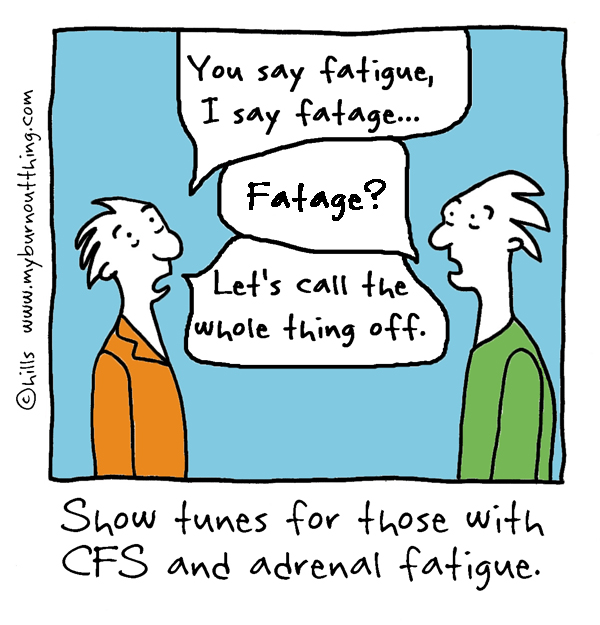 Fatigue Fatague cartoon