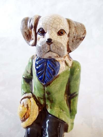 If you have a couple hundred bucks to spare, this vintage Dapper Dandy Dog can be yours!