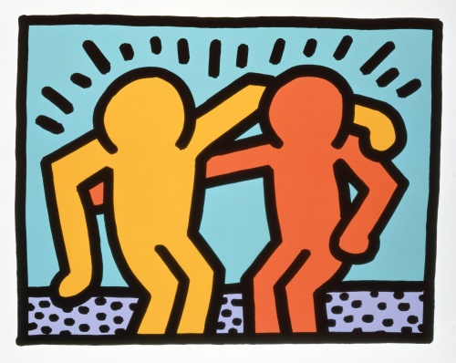 Hooray for Accountability Partners (and Keith Haring)!